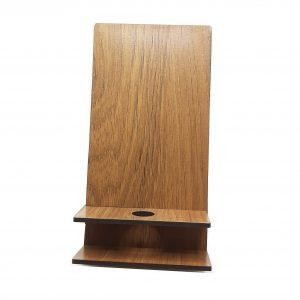 پایه نگهدارنده (هولدر) گوشی موبایل چوبی مدل T24